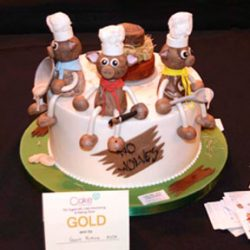Competition Cake-Pigs