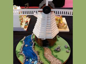 Competition Cake-Windmill