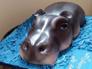 Birthday Cake Hippo