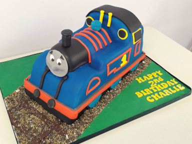 Childrens Train Cake