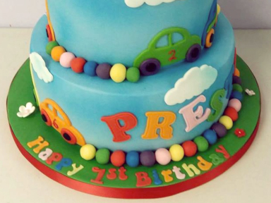 Two Tiered Childrens Cake